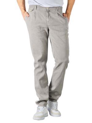 Alberto Ken Pants Linen Slim light grey