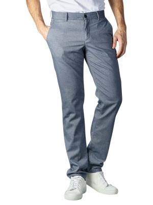 Alberto Lou Pants Slim Smart-Cotton blue