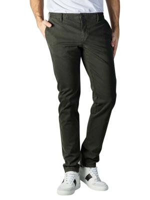 Alberto Rob Pants Slim Fit DS Broken Twill dark green