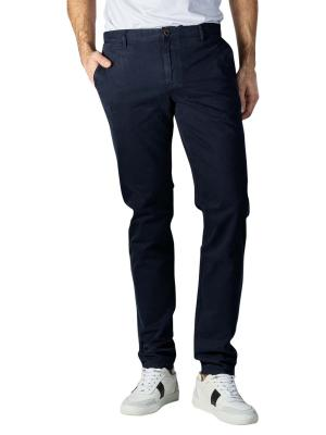Alberto Rob Pants Slim Fit DS Broken Twill navy
