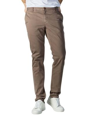 Alberto Rob Pant Slim DS Broken Twill brown