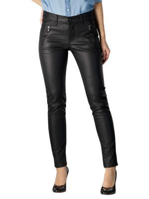 Angels Skinny Jeans Pocket Zip black