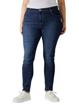 Levi's 721 Jeans Skinny High Plus Size blue story