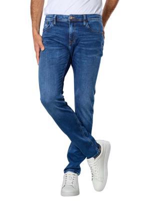 Cross Jimi Jeans Slim Tapered Fit mid blue