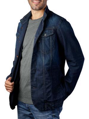 G-Star Cormac Blazer 2.0 Kara Denim worn in marine blue