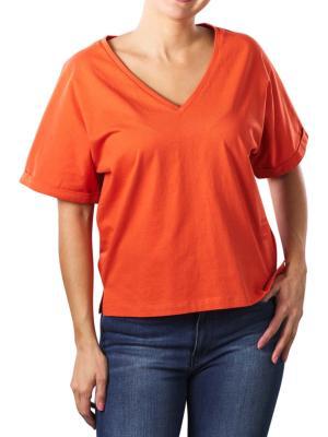 G-Star Joosa T-Shirt V-Neck acid orange