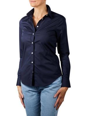 Gant Solid Strech Broadcloth Shirt evening blue
