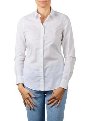 Gant Solid Strech Broadcloth Shirt white