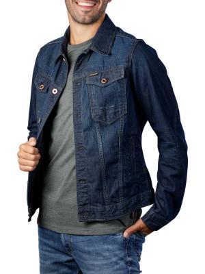 G-Star Slim Jacket Arc 3d Kara Denim worn in marine blue