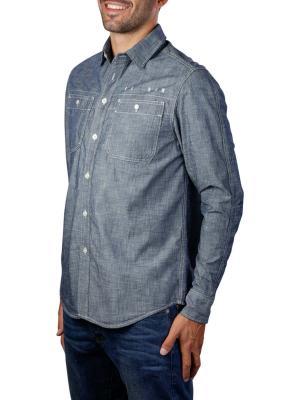G-Star Kinec Straight Shirt faded blue