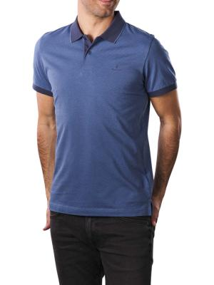 Gant Micropattern SS Rugger Polo salty sea