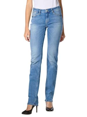 Cross Rose Jeans Straight crinkle blue used
