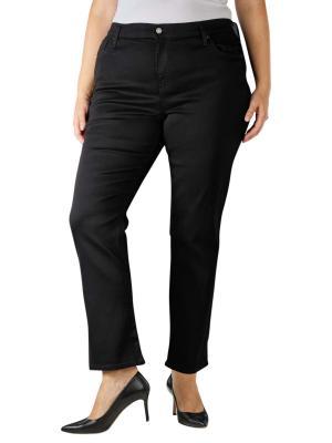 Levi's 724 Jeans High Rise Straight Plus Size soft black