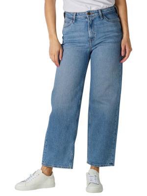 Lee Wide Leg Jeans mid soho