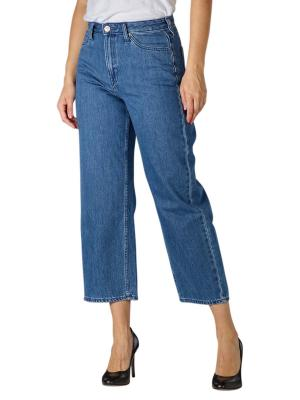 Lee Wide Leg Jeans Bootcut mid stone