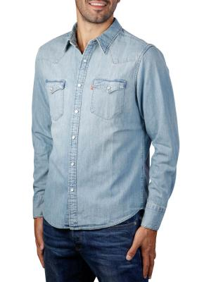 Levi's Barstow Western Standard Shirt red cast stone