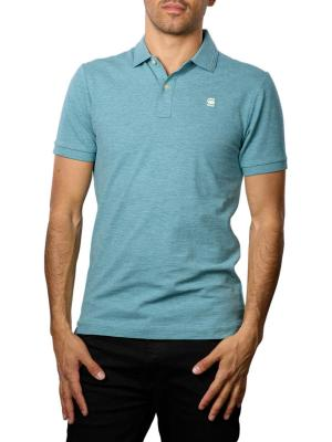 G-Star Dunda Slim Polo Shirt light bright nickel
