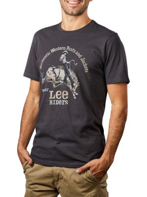 Lee Rider T-Shirt washed black