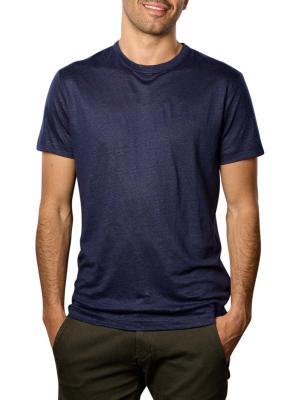 Gant Linen SS T-Shirt evening blue