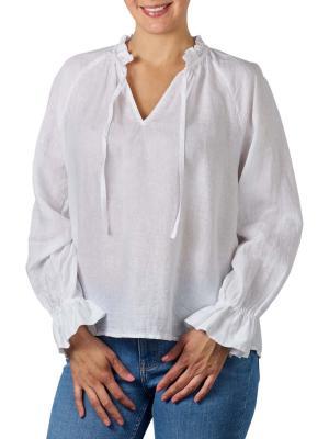 Marc O'Polo Long Sleeve Blouse white
