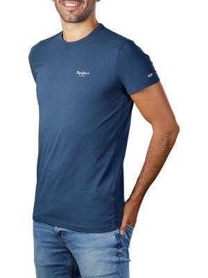 Pepe Jeans Original Basic T-Shirt 3 Base Lycra navy