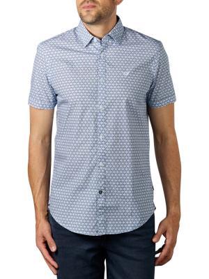PME Legend Short Sleeve Shirt All-Over aero blue