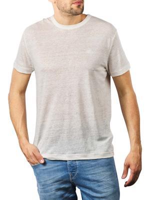 Gant Linen SS T-Shirt eggshell