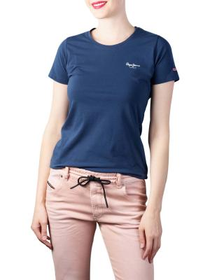 Pepe Jeans Esther T-Shirt Basic Lycra navy