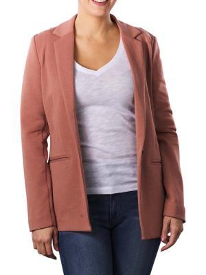 Yaya Jersey Tailored Blazer russet