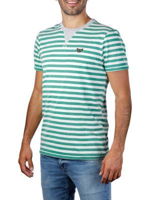 PME Legend Short Sleeve R-Neck OE Yarn Striped 6253