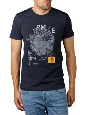 PME Legend Short Sleev R-Neck Sing T-Shirt 5073