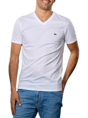 Lacoste T-Shirt Short Sleeves V Neck 001