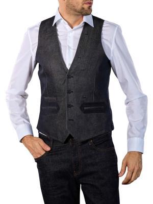 G-Star Tuxedo Waistcoat raw denim