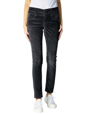 Angels Skinny Button Jeans anthracite used