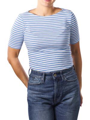 Marc O'Polo T-Shirt Boat Neck multi cornflow