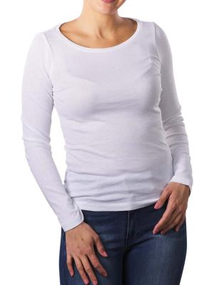 Marc O'Polo T-Shirt Longsleeve white