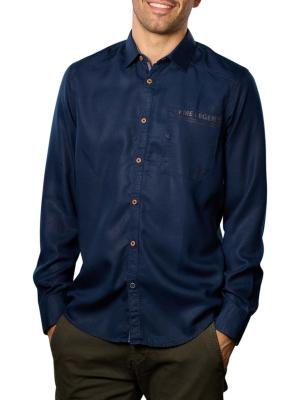 PME Legend Long Sleeve Shirt Tencel dark