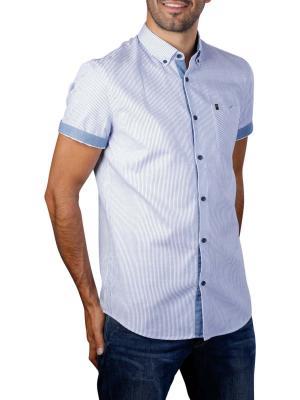 Vanguard Short Sleeve Shirt Woven Small Stripe 5176