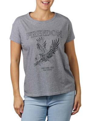 Set T-Shirt Print  light grey