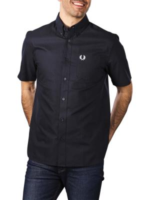 Fred Perry Short Sleeve Oxford navy