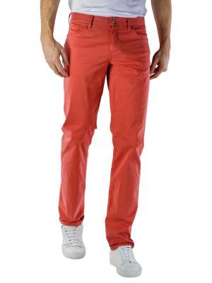 Alberto Pipe Jeans Slim DS Broken Twill red