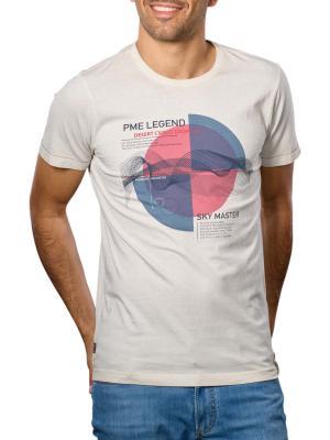 PME Legend T-Shirt Chestprint 9017 white