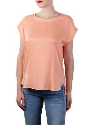 Yaya Fabric Mix T-Shirt papaya