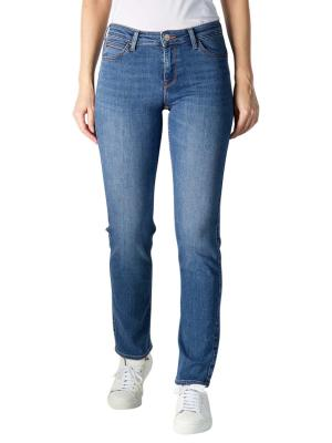 Lee Marion Straight Stretch Jeans mid refined