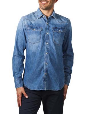G-Star 3301 Slim Shirt 7 oz Denim medium aged