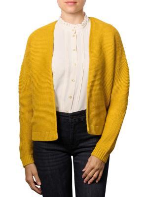 Set Knitted Cardigan yellow sun