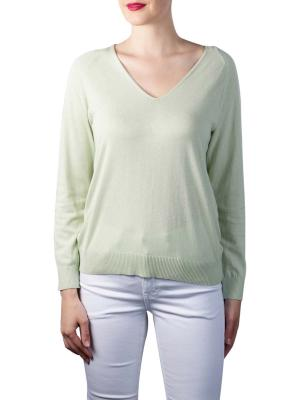Yaya V-Neck Sweater tender greens