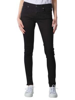 Levi's 711 Jeans Skinny Fit soft black