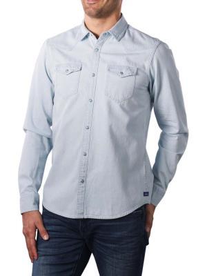 Scotch & Soda Western Shirt Organic Cotton blue