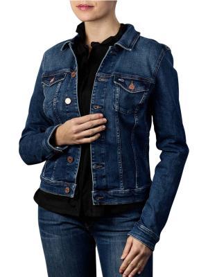 Tommy Jeans Vivianne Slim Trucker Jacket dark blue